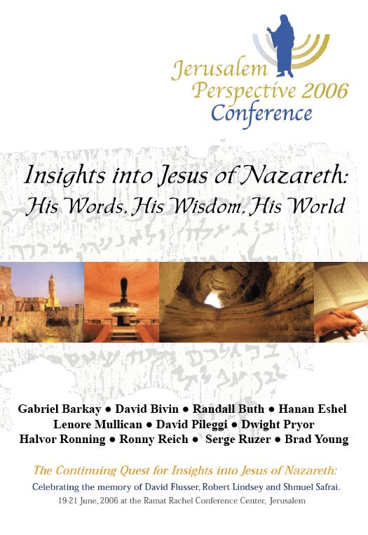 Insights into Jesus of Nazareth Cover